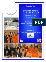 २nd Hindu Jewish Summit Report