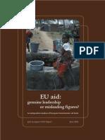 EU Aid - Genuine Leadership or Misleading Figures?