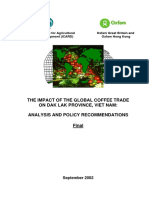 The Impact of the Global Coffee Trade On Dak Lak Province, Viet Nam
