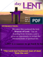 Bishops Homily - 1st Sunday of Lent