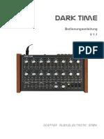 Dark Time Anleitung