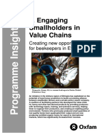 Engaging Smallholders in Value Chains