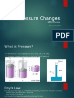 2.1 d Pressure Changes GCSE Physics Ayaan