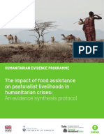 The Impact of Food Assistance on Pastoralist Livelihoods in Humanitarian Crises
