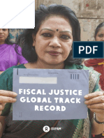 Fiscal Justice Global Track Record