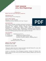 Fact Sheet.ppo 34th Season-concert Vii