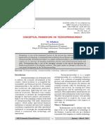 Conceptual Framework on Technopreneurship