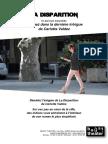 Dossier La Disparition