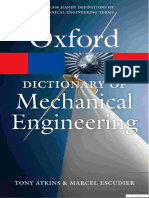 Oxford Dictionary of Mechanical Engineering