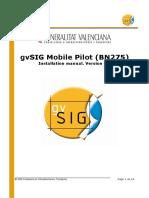 GvSIG Mobile Pilot 0.3 Install Man v1 En