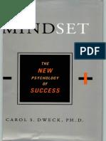 Mindset the New Psychology of Success by Carol Dweck PDF