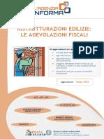 Guida Ristrutturazioni Edilizie Mar 2016