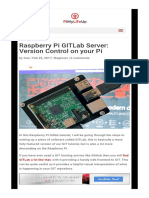 Raspberry Pi GITLab Server_ Version Control on Your Pi - Pi My Life Up