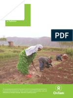 Climate Change Investment through the Pilot Programme for Climate Resilience in Tajikistan