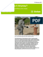 Whose Aid is it Anyway? Politicizing aid in conflicts and crises