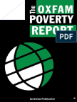 The Oxfam Poverty Report