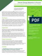Community-based Adaptation and Advocacy in Coastal Pakistan