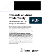 Towards an Arms Trade Treaty