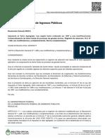 IVA Boletín Oficial