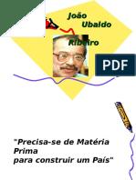 João Ubaldo - Educação