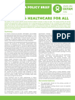 Achieving Healthcare for All in India
