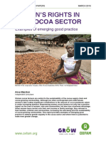 Women's Rights in the Cocoa Sector