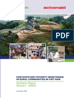 Participatory Poverty Monitoring in Rural Communities in Vietn Nam