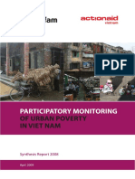 Participatory Monitoring of Urban Poverty in Viet Nam