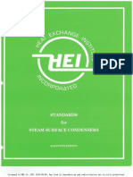 HEI 2629-2012 (E11) Standards for Steam Surface Condensers