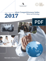 Global Talent Competitiveness Index 2017