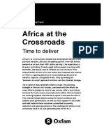Africa at the Crossroads
