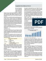 Bangladesh Steel Industry Review-2016