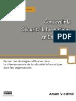Concevoir La Sc3a9curitc3a9 Informatique en Entreprise Aman Vladimir1