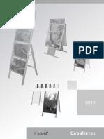 Catalogo Caballetes 2016