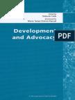 Development and Advocacy