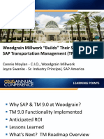 4903-Woodgrain Millwork Builds Their Success With SAP Transportation Management TM 9.0