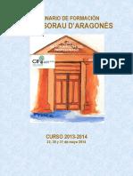 Seminario de Formaci n Profesorau d Aragon s 2014