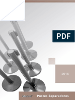 Postes Separadores Catalogo 2016