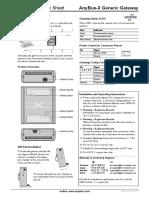 SP0736 Generic Gateway Installation Sheet 1_00