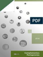 Catalogo Complementos Portaprecios 2016