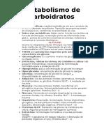 Metabolismo de Carboidratos (1)