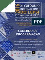 Caderno de Resumos Lepsi Belo Horizonte 2016