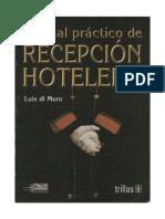 127365583 Luis Di Muro Recepcion Hotelera Manual Practico