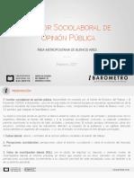 Monitor Sociolaboral de OP Febrero 2017