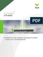 CTR 8500 - Platform Brochure - March 2014.pdf