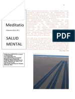 Revista de Salud Mental Meditatio