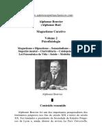 Magnetismo Curativo - Volume 2 (Alphonse Bouvier).pdf