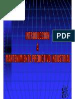 Introducción al Mantenimiento predictivo Industrial