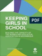 Keeping Girls in School