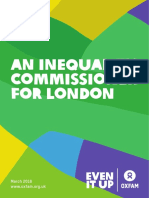 An Inequality Commissioner for London